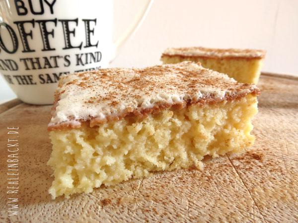 Tres Leches Dessert, Dreierlei Milchkuchen