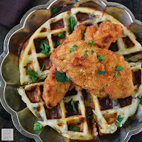 Chicken and Waffles Poutine by Life Tastes Good