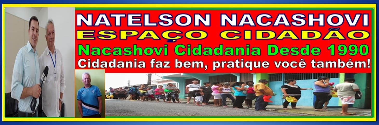 NATELSON NACASHOVI ESPAÇO CIDADÃO