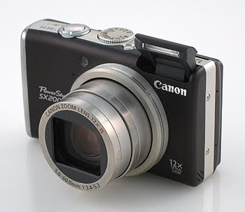 фотоаппарат Canon PowerShot SX200 IS для создания видео уроков с функцией видеозаписи в HD формате