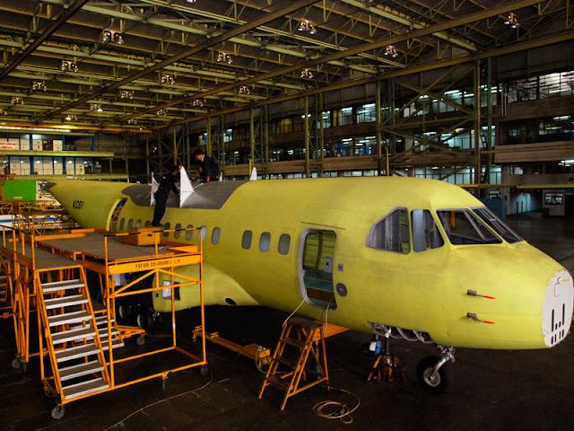 Hanggar Produksi Pesawat C-235 PT DIrgantara Indonesia