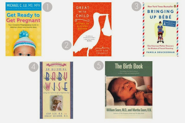 Which books to read in pregnancy