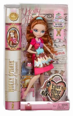 JUGUETES - Ever After High  : Sugar Coated | Recubierto de azúcar  Holly O'Hair | Muñeca - Doll  Toys | Producto Oficial 2015 | Mattel | A partir de 6 años