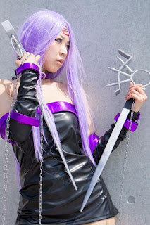 Fate/Stay Night Rider Cosplay by Makiron