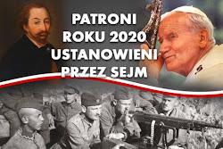 Patroni roku 2020