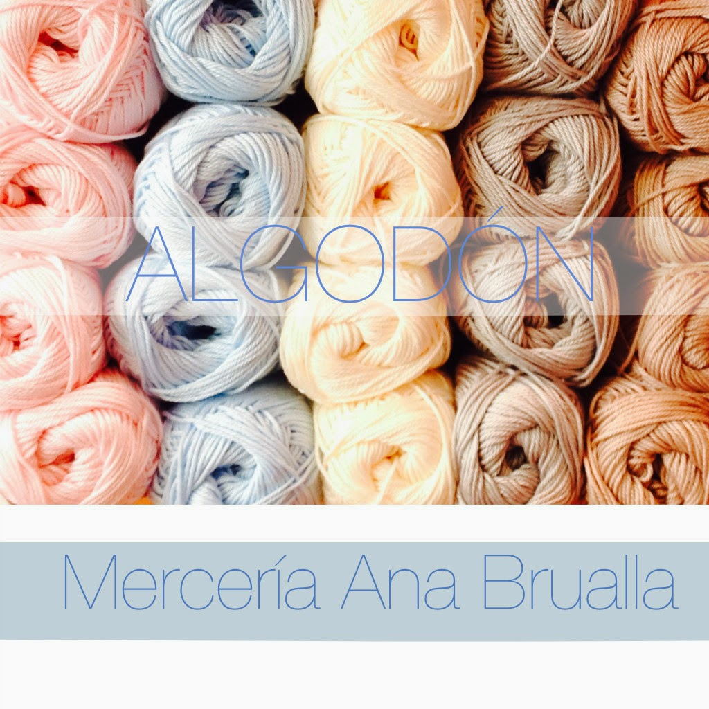 ovillos de Algodón de Merceria online Brualla
