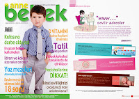 Butik Tasarımlar Anne Bebek Dergisinde