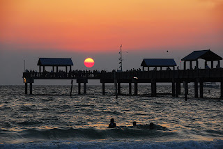 Clearwater Beach Florida Sunset Times