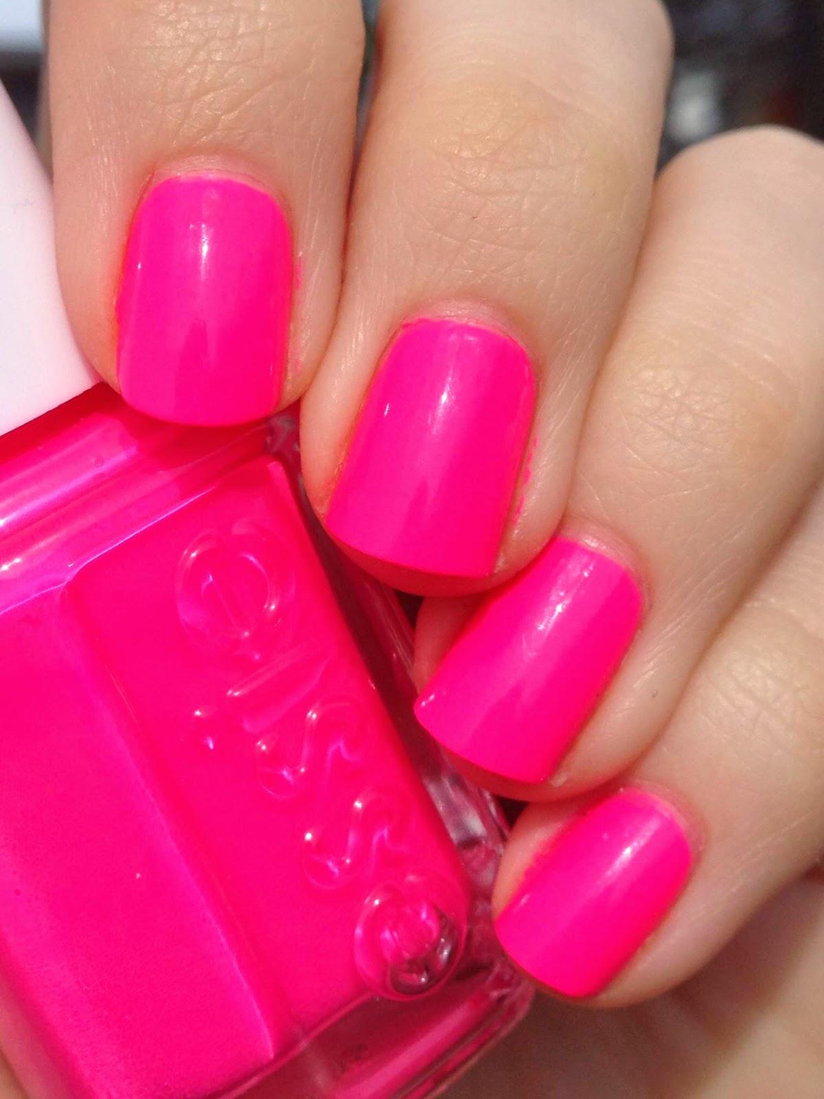 Short \'n Chic: Essie Pink Parka