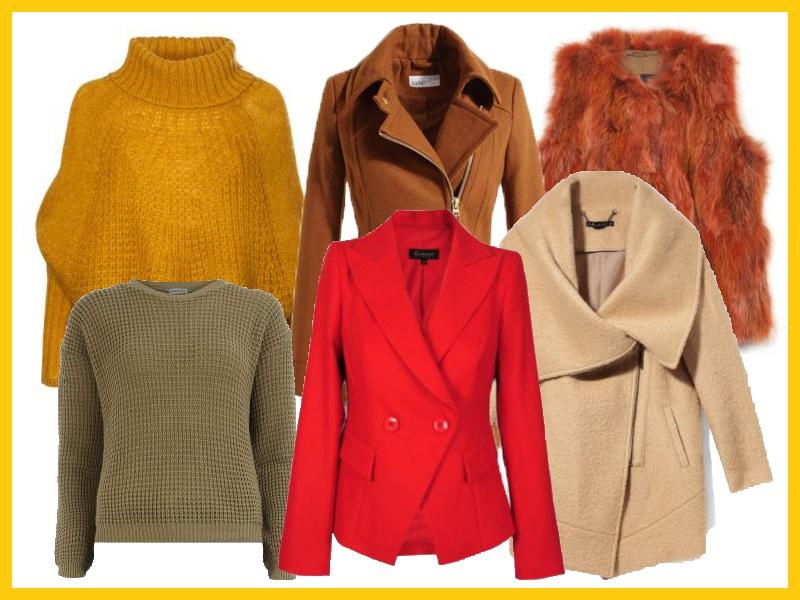 Przykładowa garderoba ciepłej jesieni