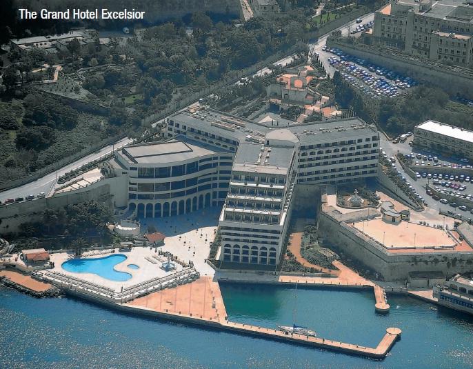 Grand Hotel Excelsior In Valletta Malta Autos Post