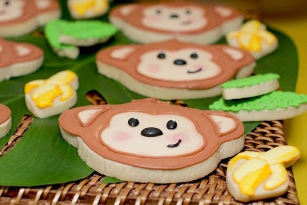 Decoração festa infantil - tema macaco