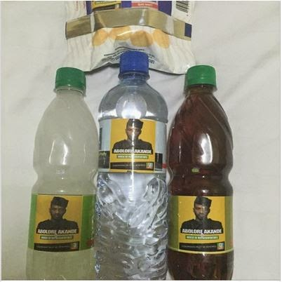 9ice gives out bottles of palm oil, palm wine & water during Electoral Campaign