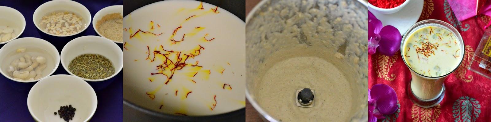 How to make thadai at Home ?