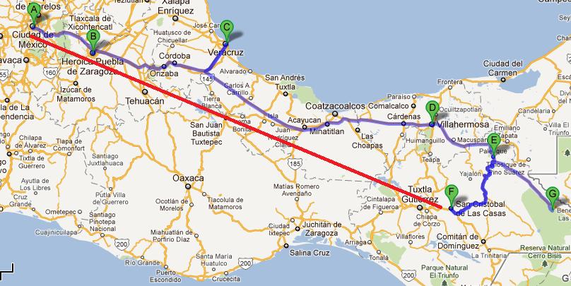 Mexico por cuatro duros la ruta de los mayas for Casa de los azulejos villahermosa