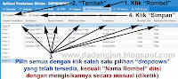 CARA MEMBUAT ROMBEL BARU / MENAMBAH ROMBONGAN BELAJAR DAPODIKDAS 2013/2014