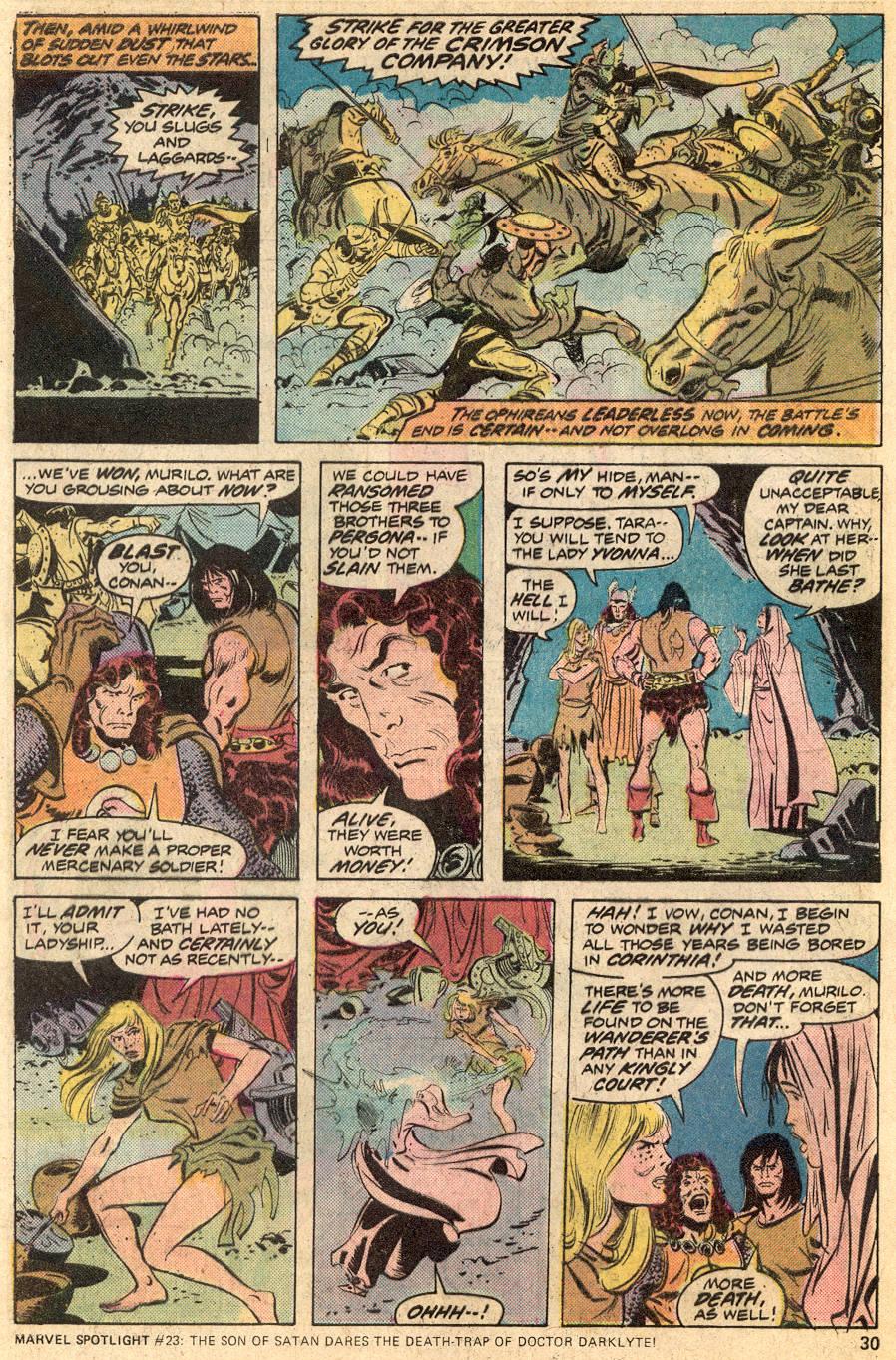 Conan the Barbarian (1970) Issue #53 #65 - English 18