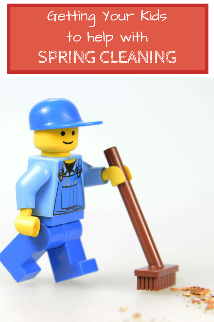 getting your kids to help out with spring cleaning