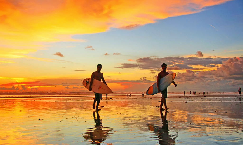 Pantai Kuta yang Eksotik