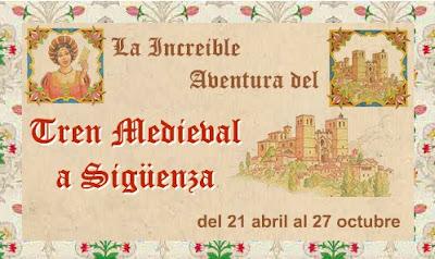 Cartel de la temporada 2012 del tren medieval de renfe