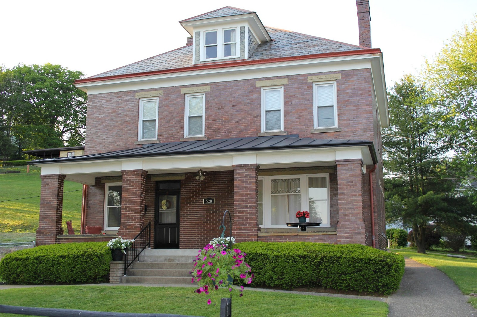 Logan house for sale historic 3 story brick house on n for Three story house for sale