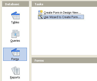 Cara Membuat Form di Openoffice Base