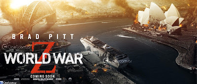World War Z Banner Poster Australia
