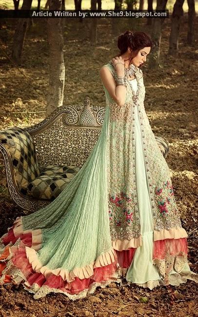 Zahra Ahmad Luxury Pret 2015