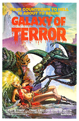 Galaxy of Terror 1981 Poster Cover