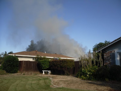 Fourth of July house fire In Woodland
