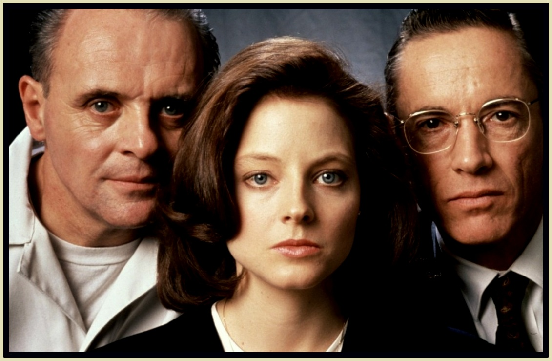 JODIE FOSTER : ANTHONY HOPKINS : THE SILENCE OF THE LAMBS : GALLERY AND  REVIEW