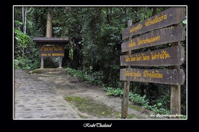 Khao Phanombencha, huay to waterfall, krabi, phuket, thailand, travel, backpacking, air terjun