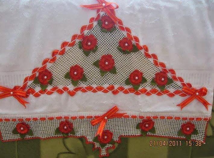 havlu kenarı yap,havlu danteli yapımı