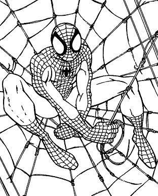 Super heroes para pintar pinta super heroes series - Libro da colorare uomo ragno libro ...