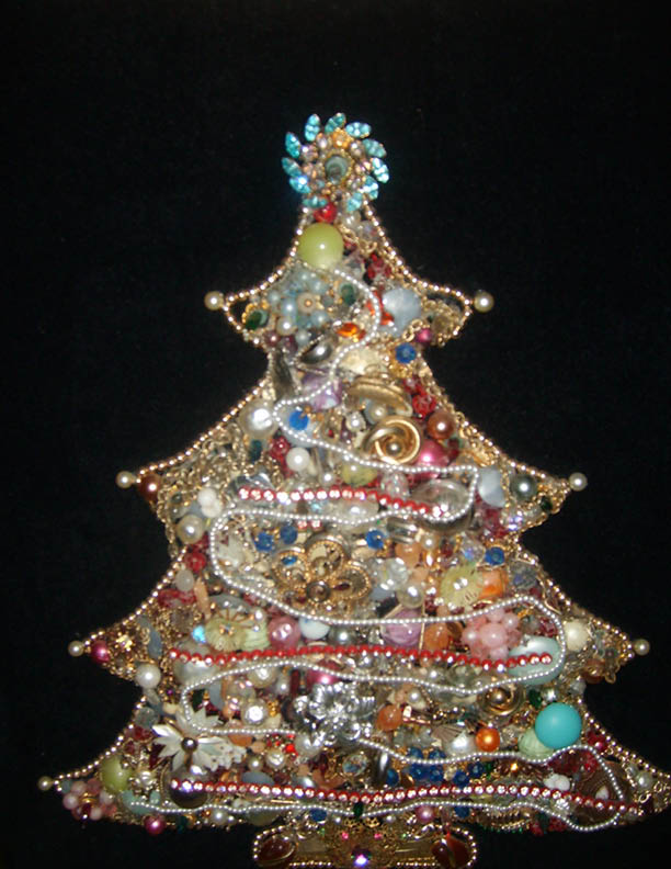 Craft Critters Merry Christmas And Jewelry Christmas Tree
