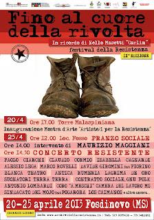 IX edizione del festival della Resistenza - Fino al cuore della rivolta