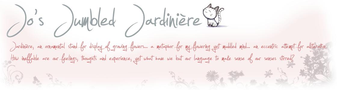 Jo's Jumbled Jardinière