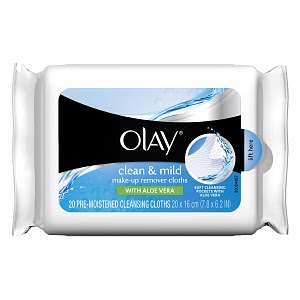 Olay Clean & Mild Make-Up Remover Cloths Review