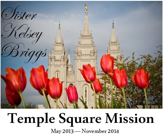 Utah Salt Lake City Temple Square Mission