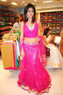 Shamli Hyderabad model in Pink Ghagra Choli Spicy Pictures