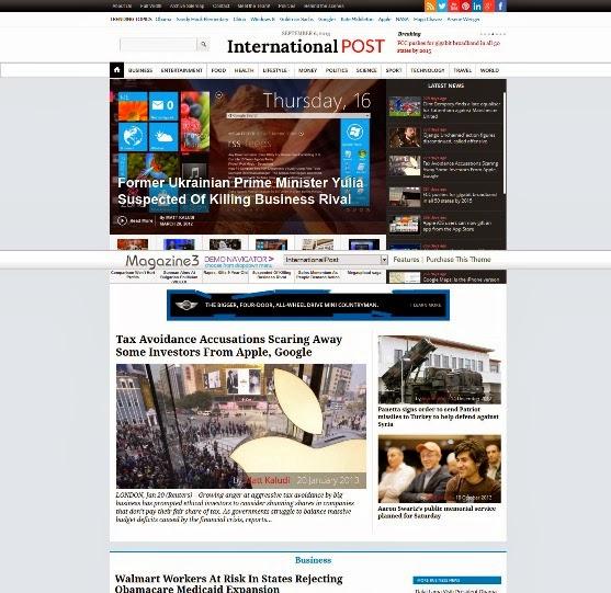InternationalPost - Magazine and News Theme
