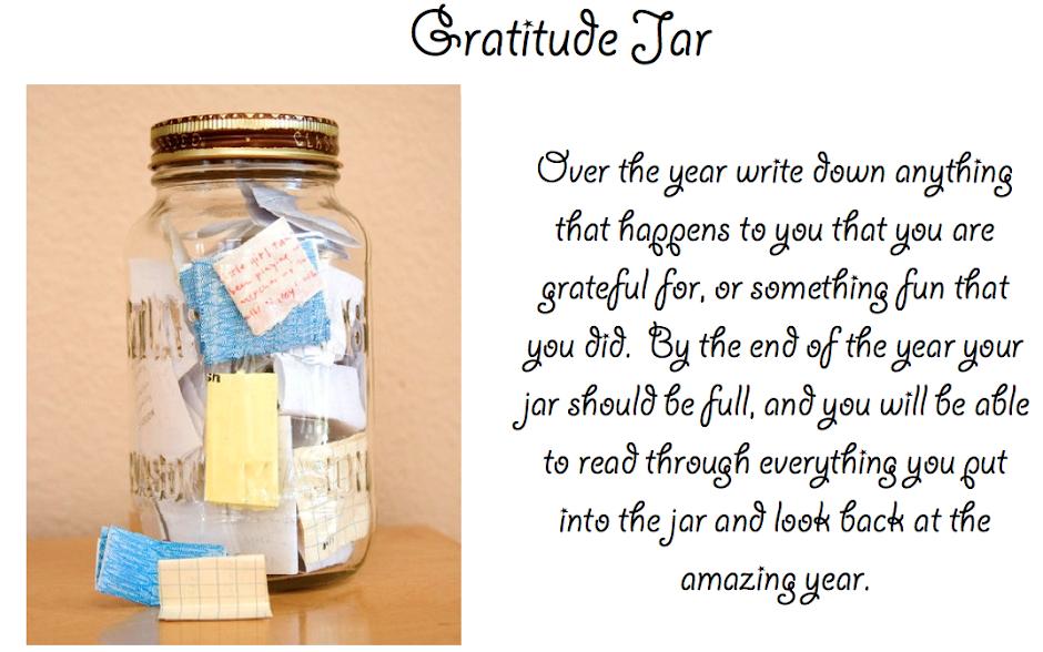 gratitude, jar
