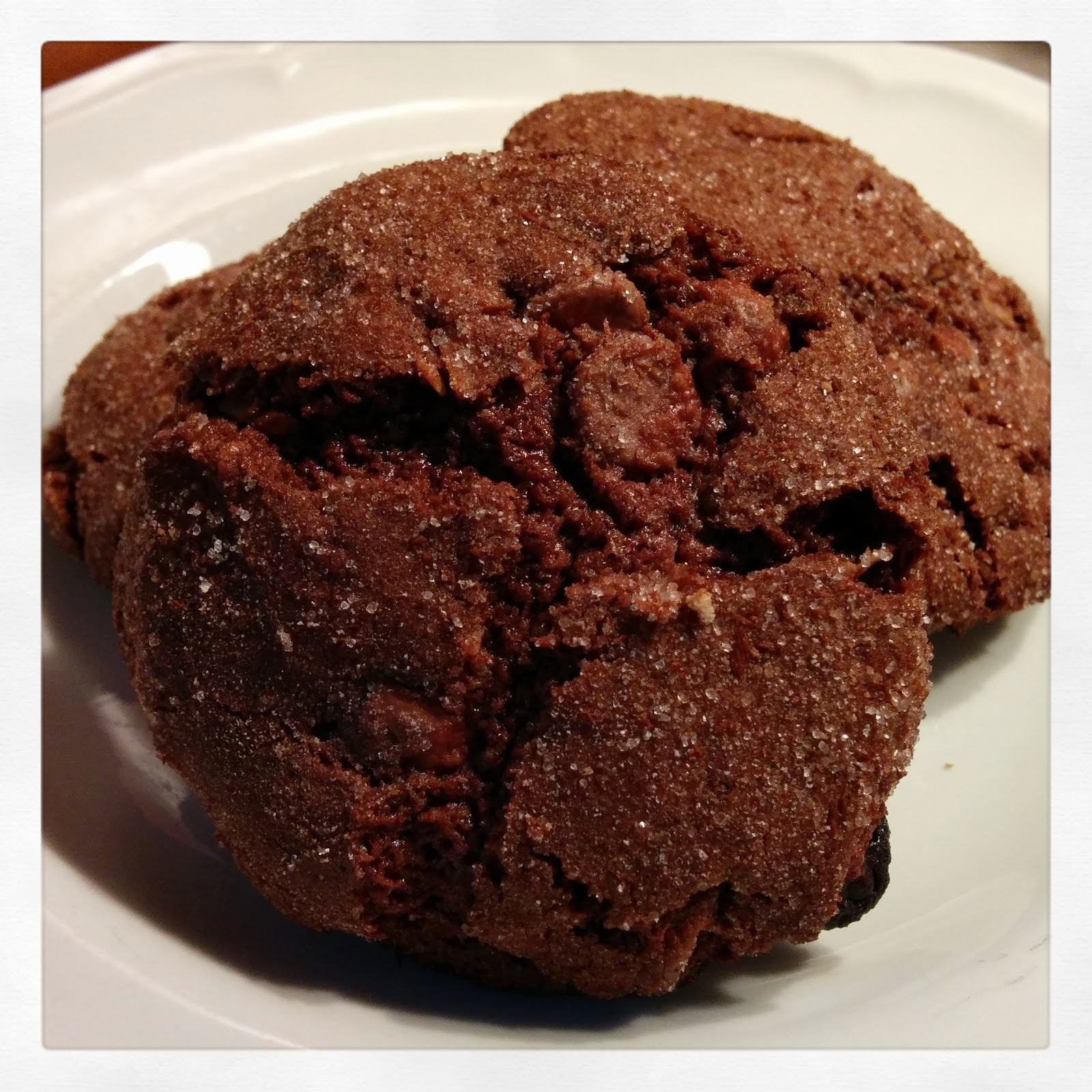Coconut Chocolate Chip Chai Hot Chocolate Cookies by tinsnips & scissors