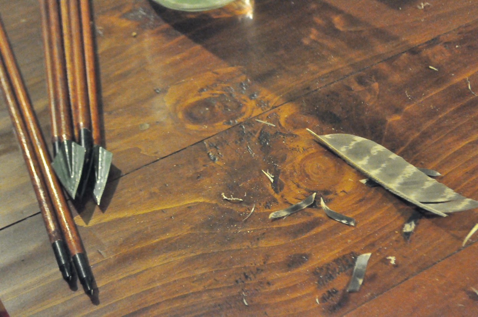 An arrow as good as it 39 s feathers shooting traditional bows - How to make a homemade bow and arrow out of wood ...