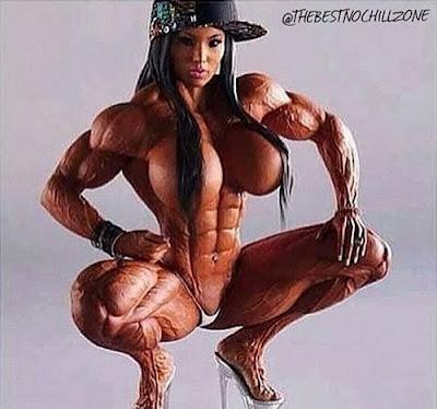 голый бодибилдинг женский фото