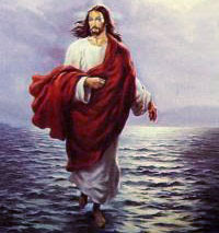 Mujizat Tuhan YESUS Kristus Berjalan di atas Air......