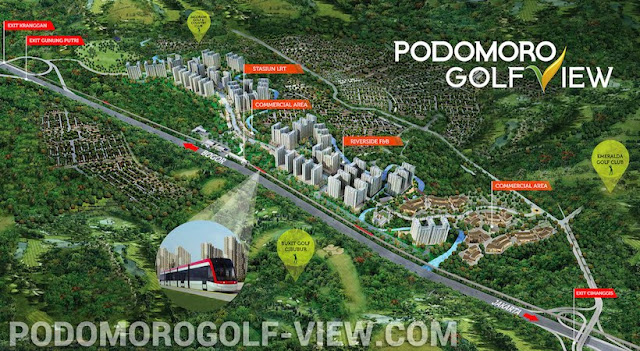 Podomoro Golf View Master Plan