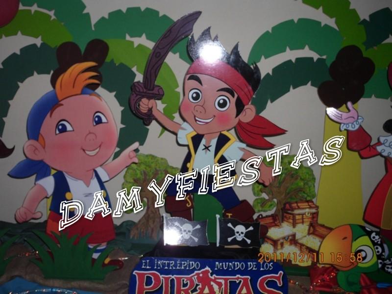 Fiesta De Jake Y Los Piratas Del Nunca Jamas 11 Diciembre 2011