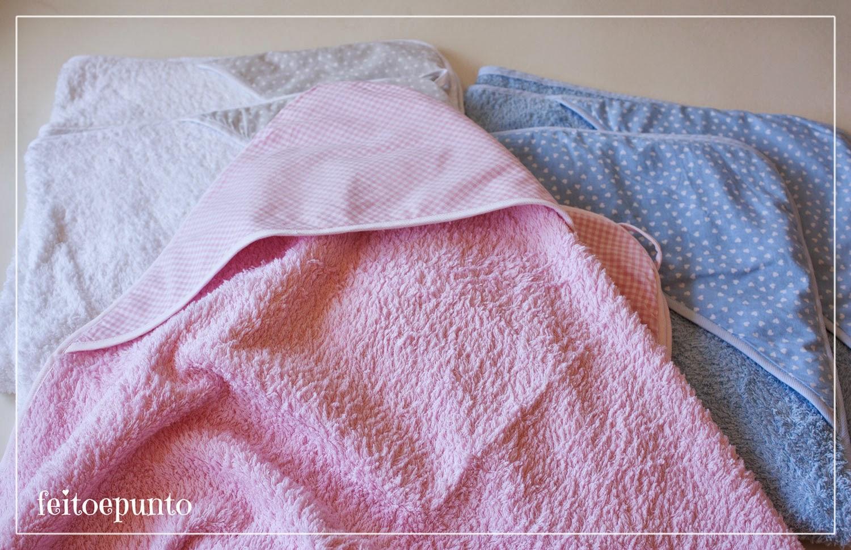 Medidas Toalla Baño Bebe:feitoepunto: Toallas capa para bebé