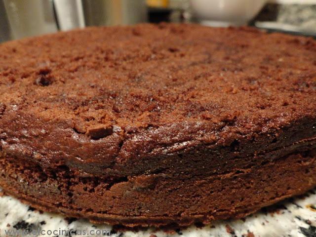 Baño Chocolate Blanco Para Tartas:Tarta de chocolate blanco y mermelada de frambuesa